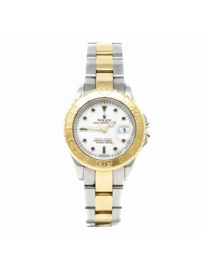 Pre-Owned Rolex Yacht-master 169623 Two Tone Women Watch (Certified Authentic & Warranty)