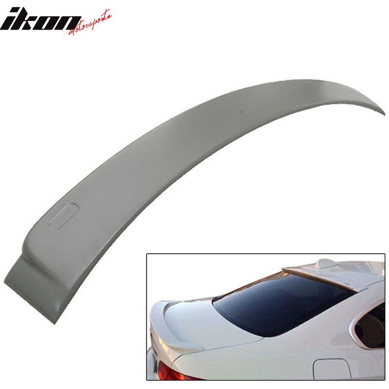 Fits 07-13 BMW E92 2Dr 2D 328I 335I AC-S ABS Roof Spoiler Unpainted Wing