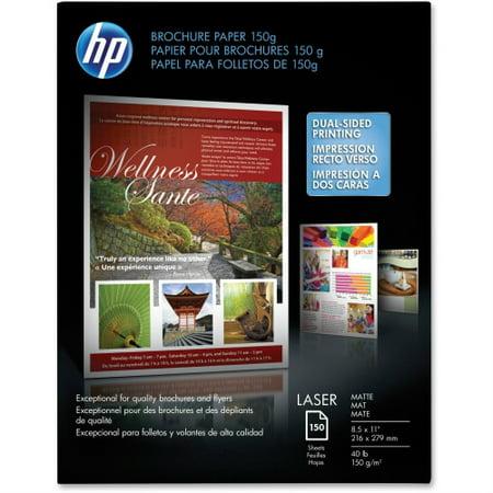 Hp Brochure Laser Paper Matte150 Sheet Brochure Paper