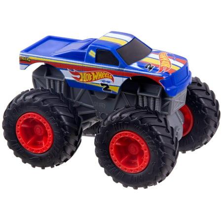 Hot Wheels Monster Trucks 1:43 Scale Regular Cab Rev Tredz Toy Truck