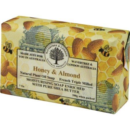 Australian Soapworks Wavertree & London 200g Soap - Honey & (Australian Honey)