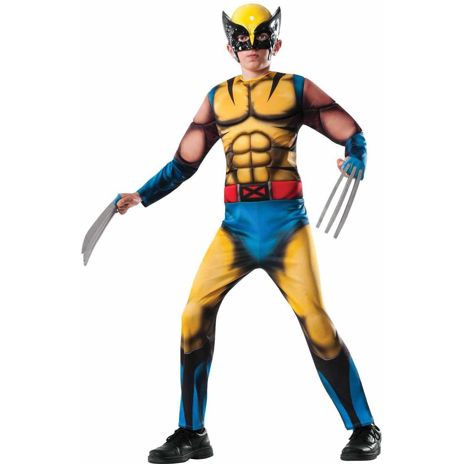 df46d840 Marvel Wolverine Costume & Rubies Marvel Universe Classic Collection ...