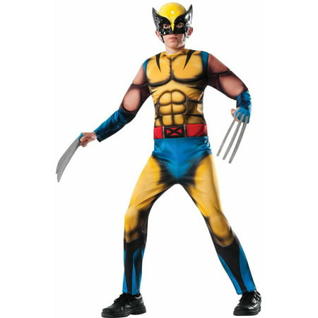 Marvel Deluxe Wolverine Boys' Child Halloween - Easy Boy Halloween Costumes To Make