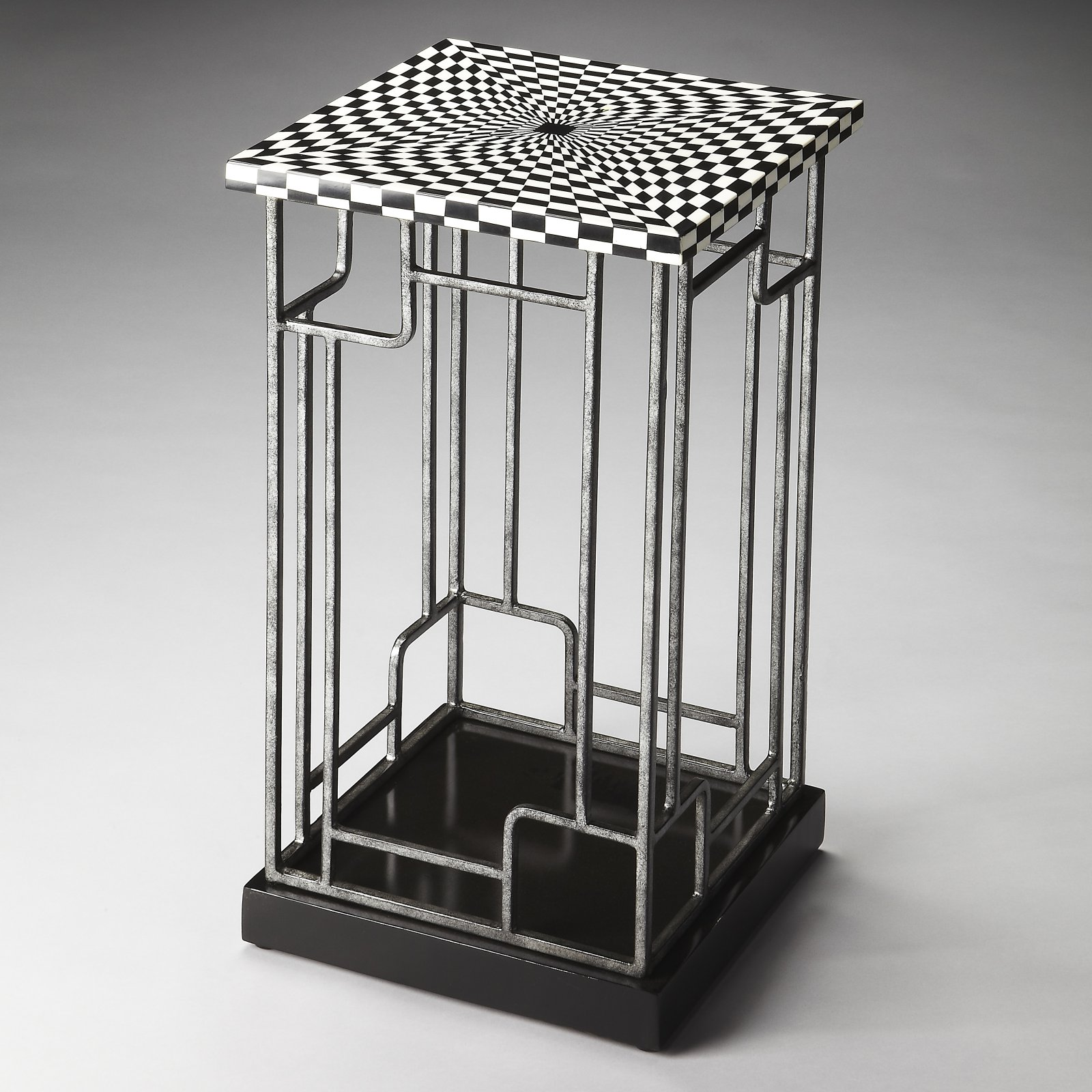 Butler Kaleidoscope Accent Table - Metalworks