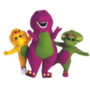 Barney and Pals The Dinosaur Show Mascot Kids TV Show Wall Decals Decor Baby Songs I Love You Purple Dinosaurs Sticker Room Decoration for Bedrooms Vinyl Stickers Sticker Boy Girls Size (12x20 inch)