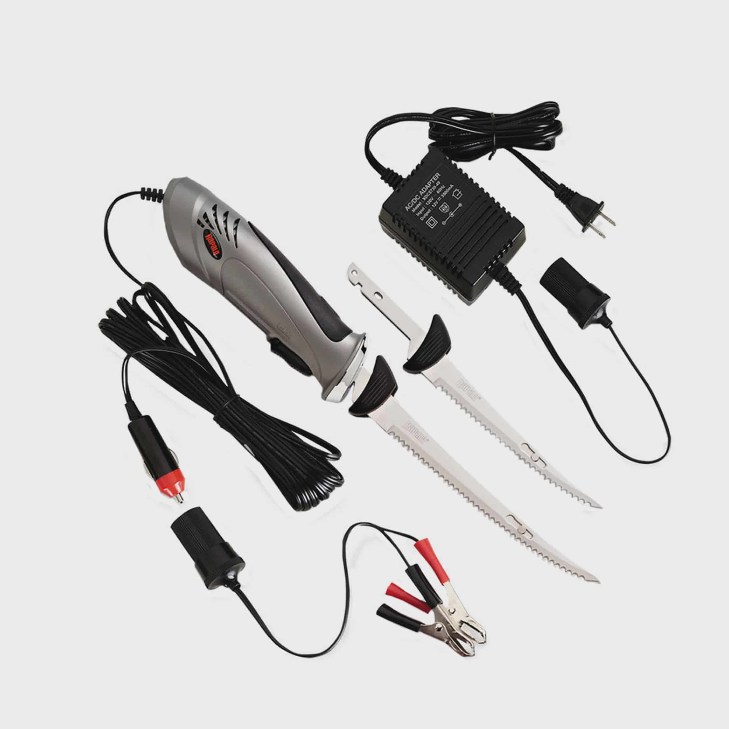 Rapala Heavy Duty Electric Knife Deluxe, AC DC by Rapala