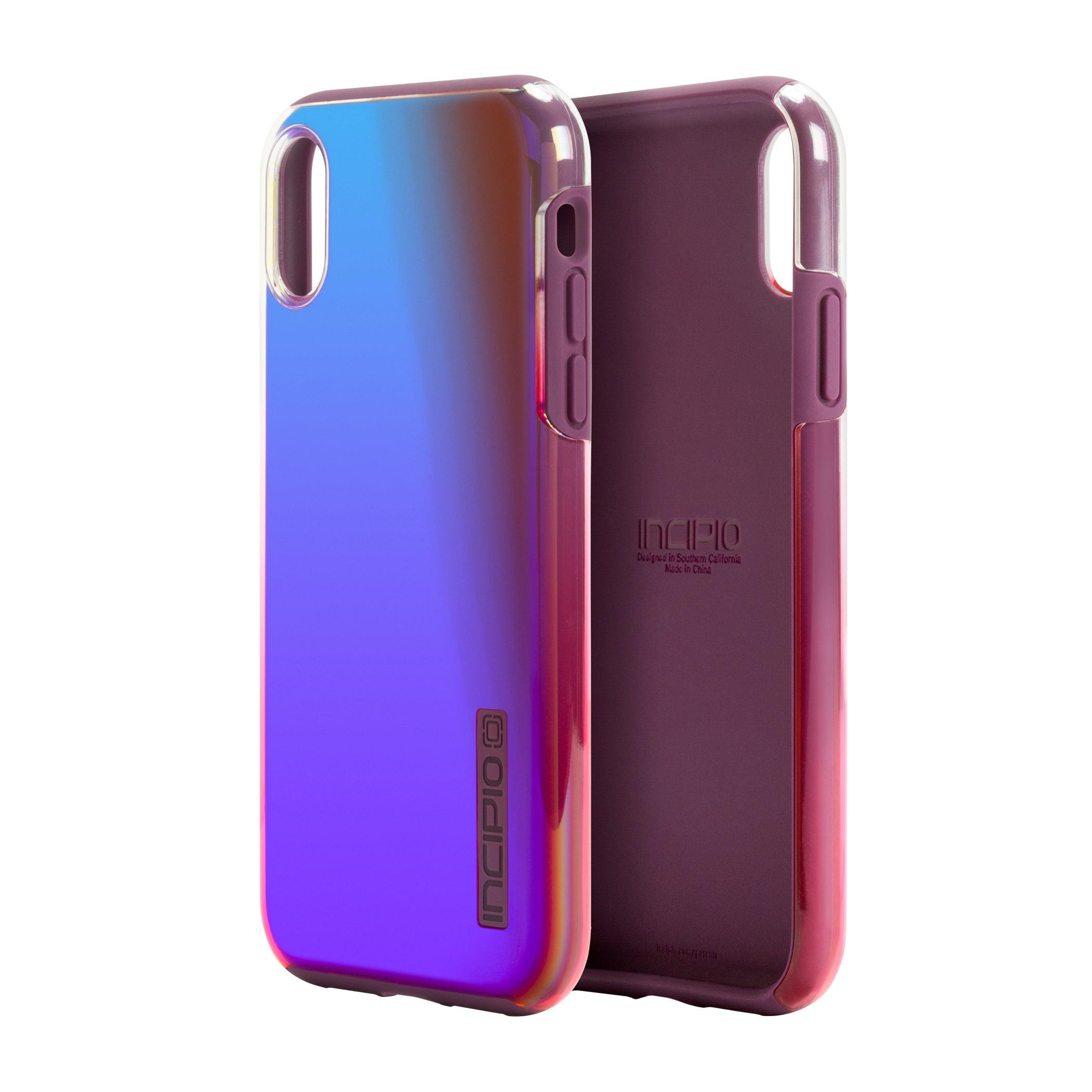 buy popular e4a7f 5dc26 Incipio DualPro Case for iPhone X - Ombre Purple