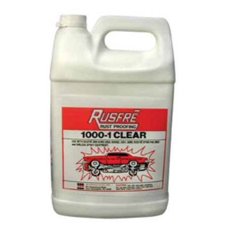 Rusfre RUS-1000-6C Rust Proofing Clear, 1-gallon