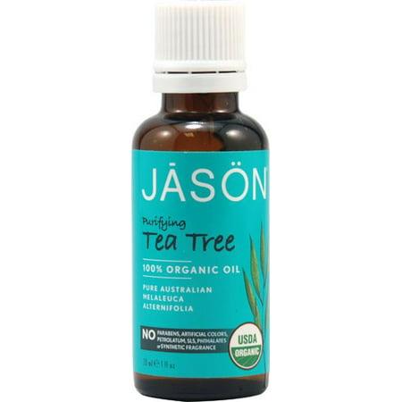 Jason 100% Oranic Purifying Tea Tree Skin Oil, 1 Fl