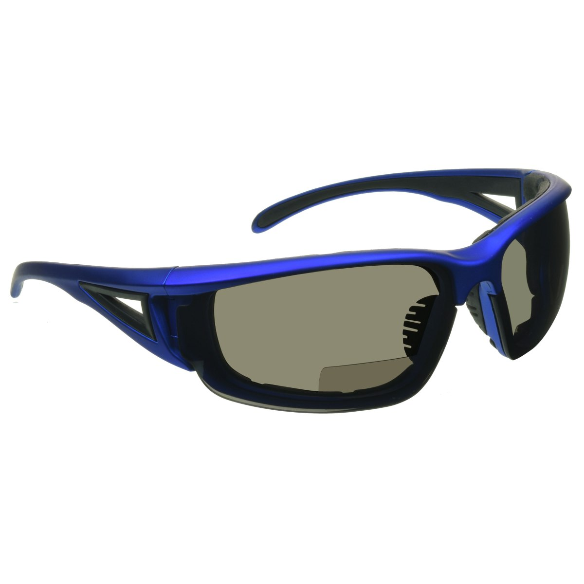 MOTORCYCLE BIKER Riding Padded Safety Protective SUN GLASSES GOGGLES Blue Lens