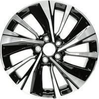 PartSynergy New Aluminum Alloy Wheel Rim 18 Inch Fits 2016 2017 Honda Accord 18x8 5 on 114.3 - 4.5 Inches 10 Spoke
