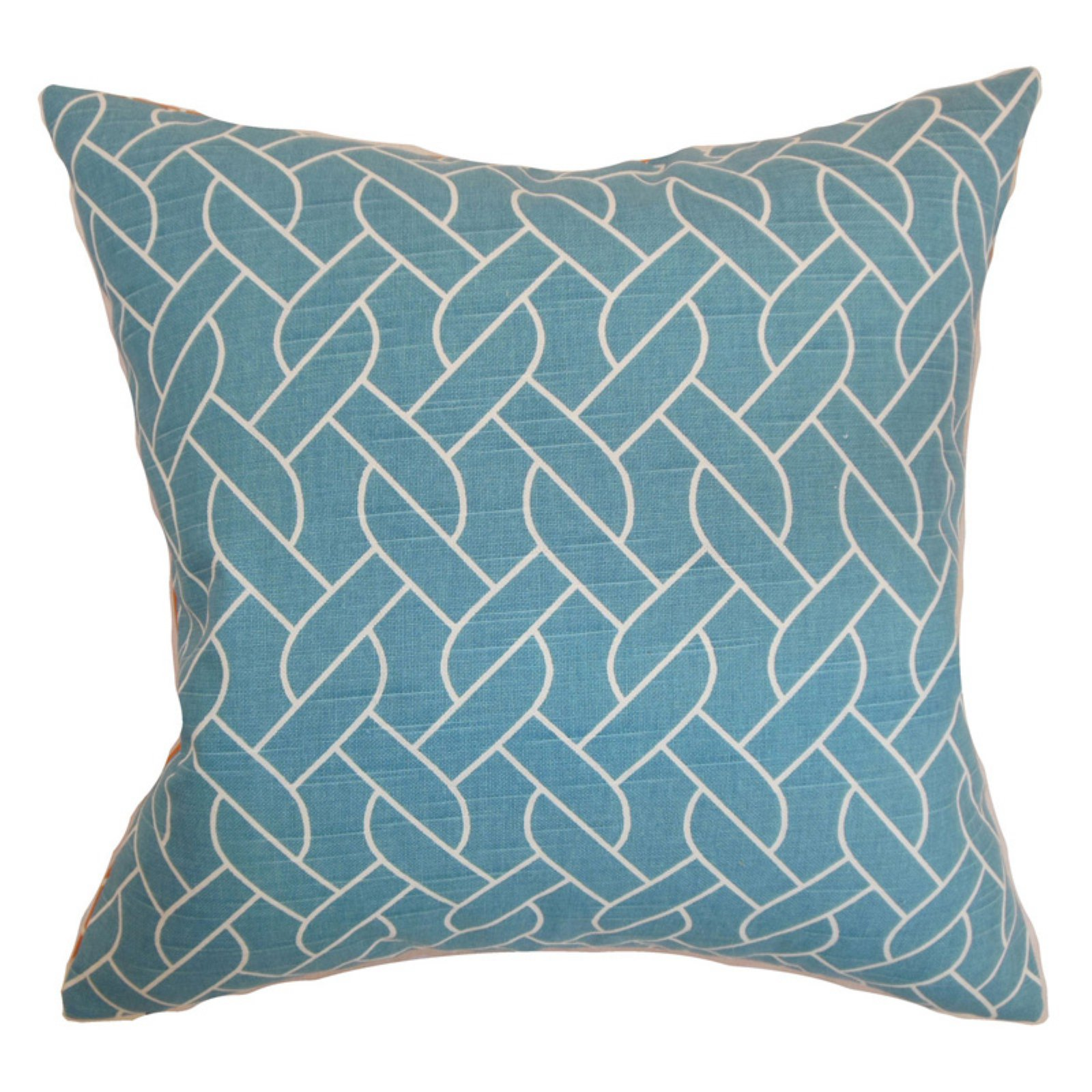 The Pillow Collection Neptune Geometric Pillow