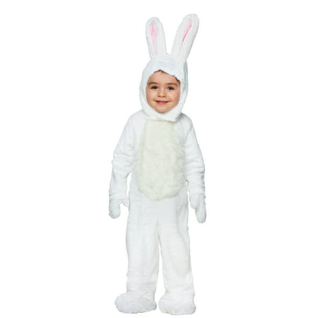 Toddler Open Face White Bunny Costume for $<!---->