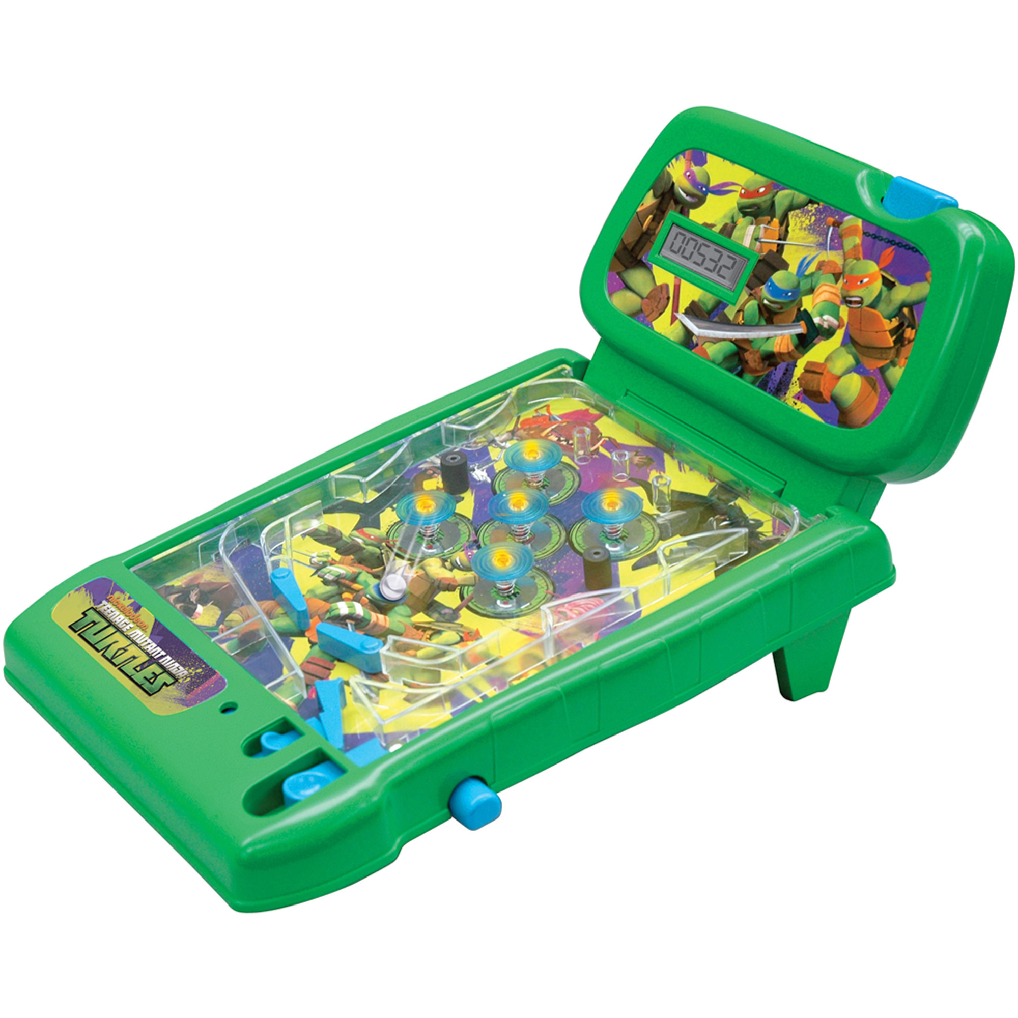 Teenage Mutant Ninja Turtles Totally Turtles Tabletop Pinball Game
