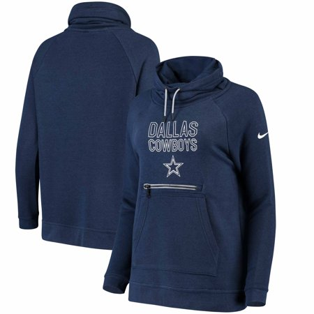 Dallas Cowboys Nike Women's Modern Funnel Hoodie - Navy