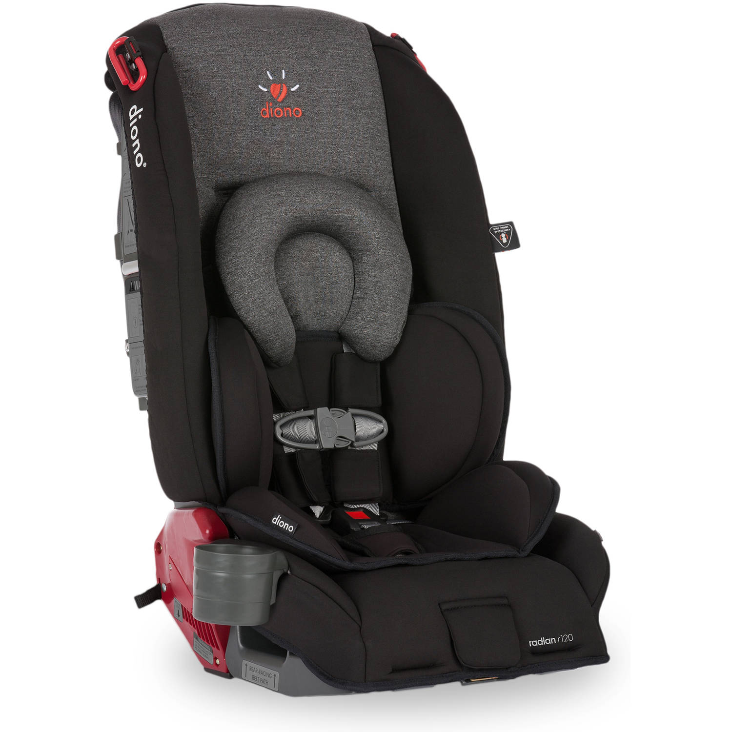 Diono Radian r120 Convertible car Seat and Booster, Essex