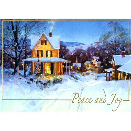 LPG Greetings Peace and Joy Holiday Card
