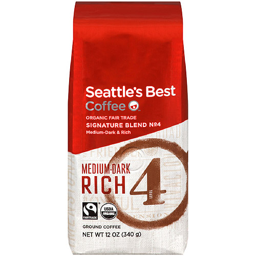 Seattle's Best Coffee Level 4 Organic Ground 12oz