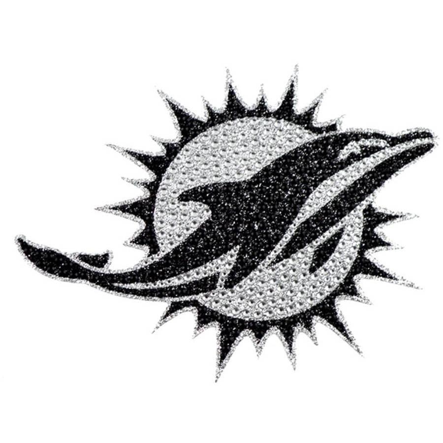 NFL Miami Dolphins Bling Emblem