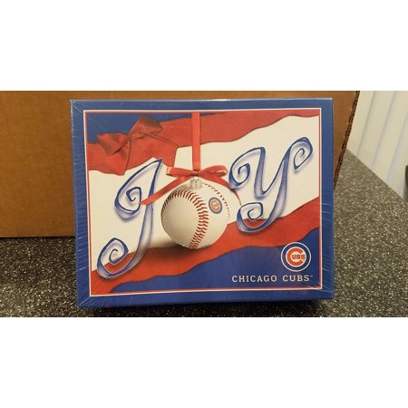 mlb chicago cubs joy boxed christmas cards walmart com