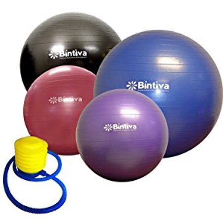 Exercise Ball for Fitness, Yoga, Labor, and Birthing
