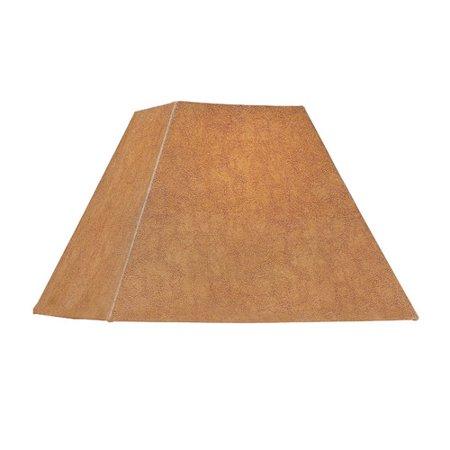 Dolan Designs Square Soft Back Faux leather Empire Lamp
