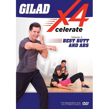 Gilad: Xcelerate 4 - #3 Best Butt And Abs (DVD)