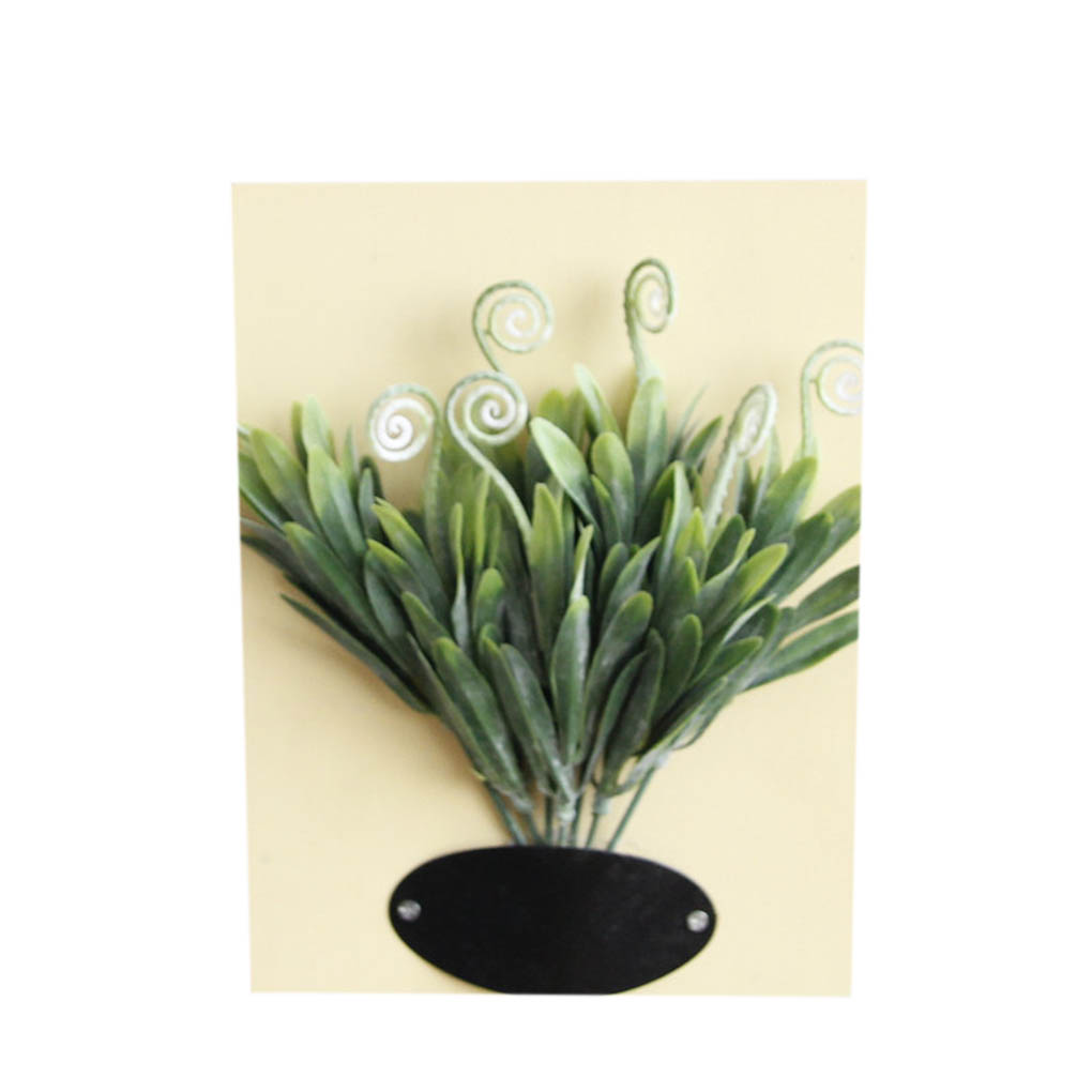 Rustic Home Decor Wall Art Decoration Artificial Plant Flowers Solid