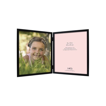 - MCS Willow Wood Double Vertical Picture Frame For 8x10