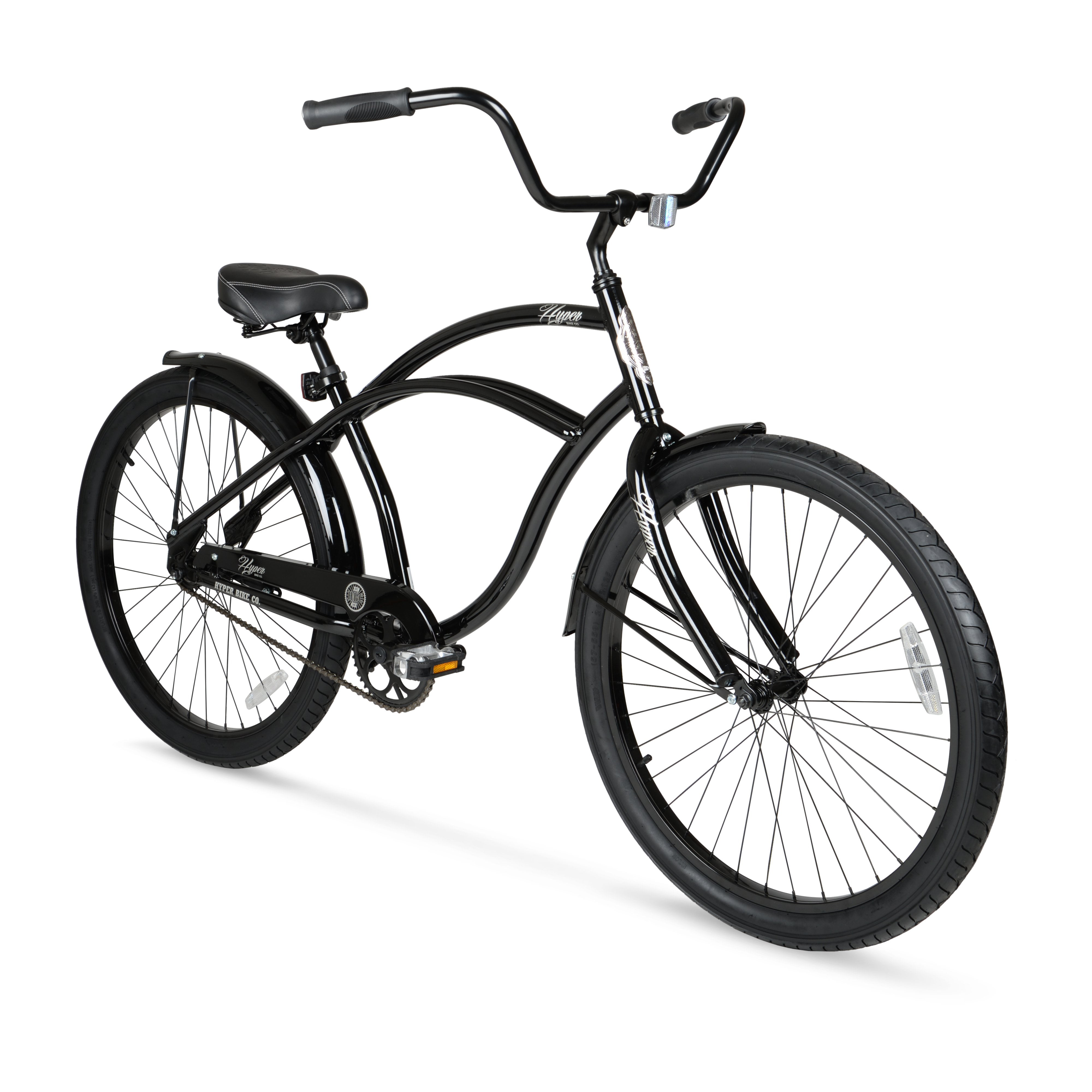 Beach Cruiser Bike Mens Classic Comfort Balloon Tire Bicycle ...