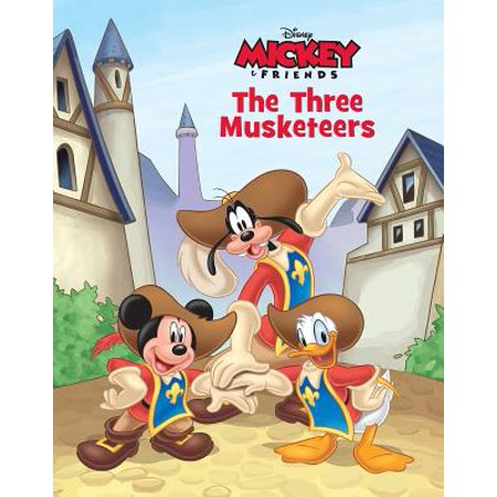 Disney Mickey Mouse the Three Musketeers Mickey Mouse Musketeers