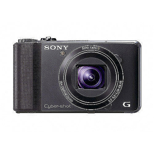 "Sony DSC-HX9V/B Black 16.2MP Digital Camera w/ 16x Optical Zoom, 3.0"" LCD Display, GPS"
