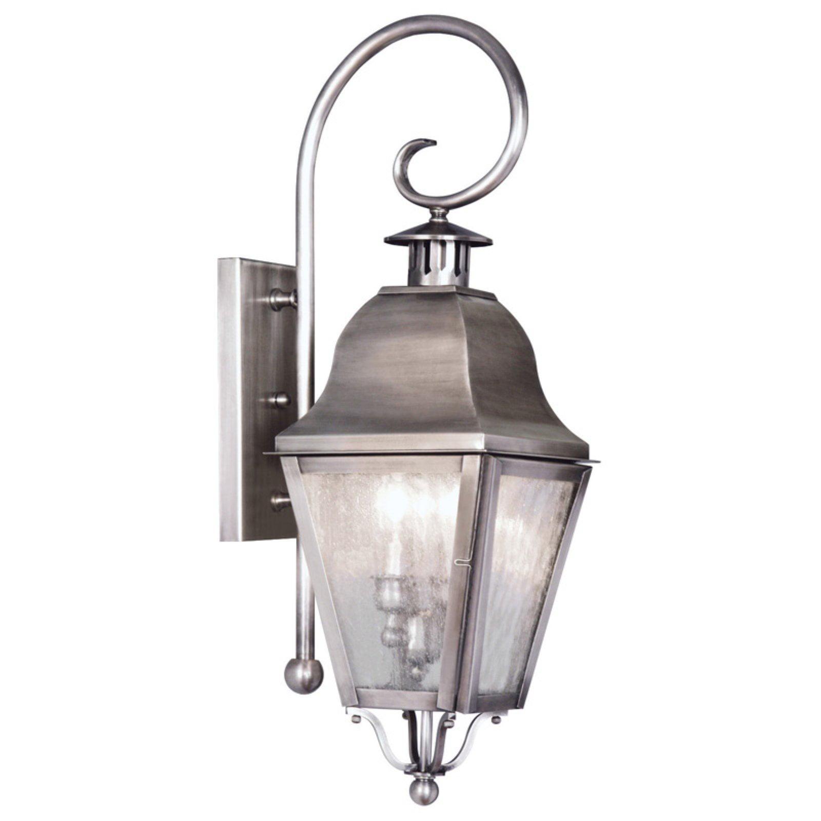 Livex Lighting Amwell 2 Light Outdoor Wall Lantern