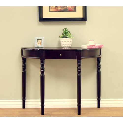 Home Craft Entryway Console Table,Multiple Colors