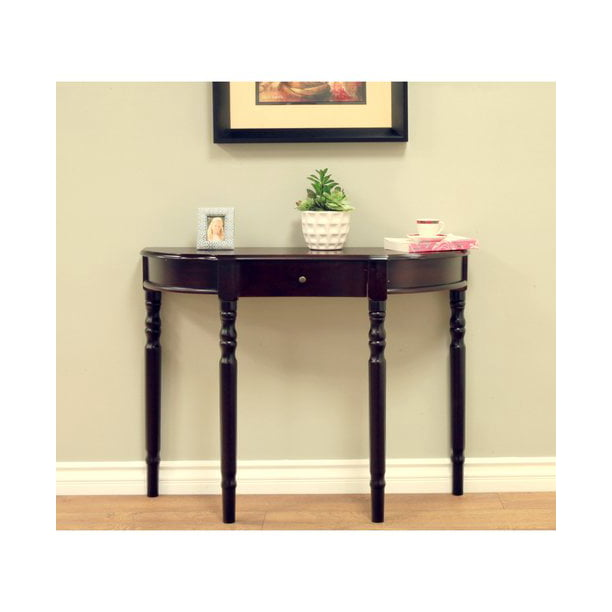 Home Craft Entryway Console Table