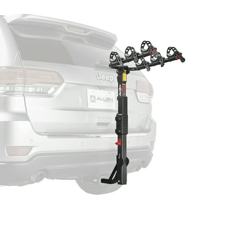 Allen Sports Premier 3-Bicycle Hitch Mounted Bike Rack Carrier, (Racor Bicycle Rack)