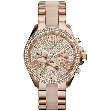 fc4f1a58f47d Michael Kors - Women s Wren Watch Quartz Mineral Crystal MK6096 -  Walmart.com