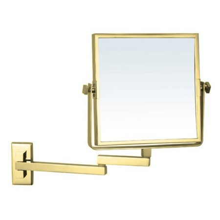 Nameeks Square Double Face Wall Mounted Makeup Mirror