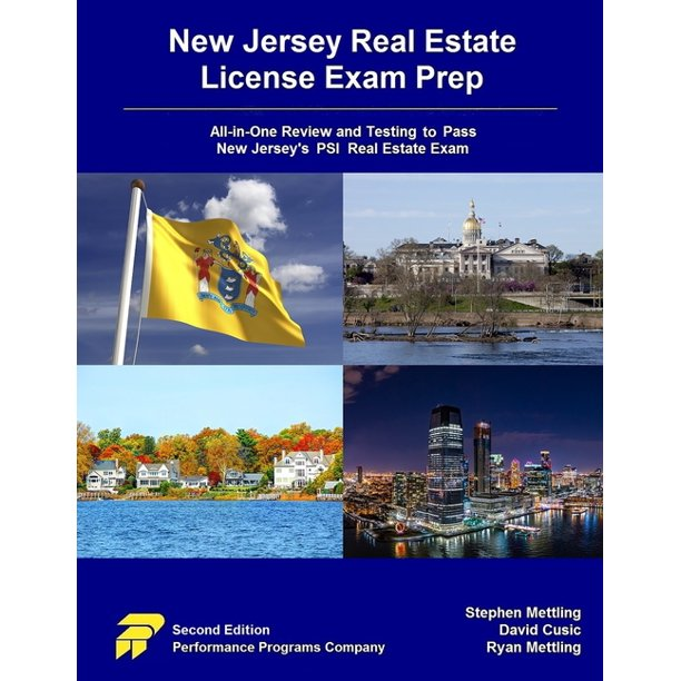 New Jersey Real Estate License Exam Prep All In One Review And Testing To Pass New Jersey S Psi Real Estate Exam Paperback Walmart Com Walmart Com