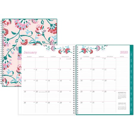 Blue Sky, BLS101617, BCA Alexandra Large Weekly/Monthly Planner, 1 Each, Multi - Large Desk Monthly Planner