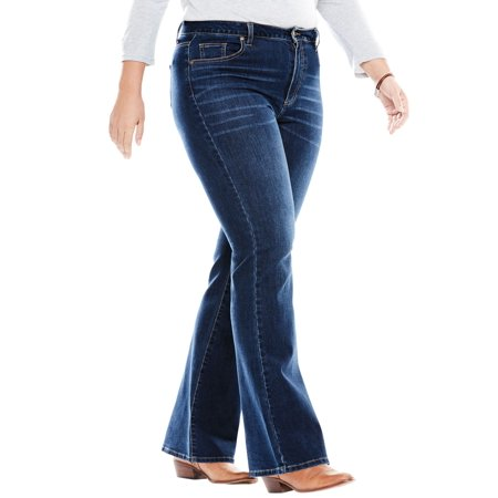 Woman Within Plus Size Perfect Bootcut Jean ()