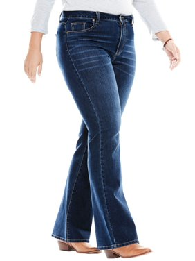 32af49df949 Product Image Woman Within Plus Size Perfect Bootcut Jean