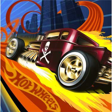 Hot Wheels 'High Speed' Lunch Napkins (16ct) ()