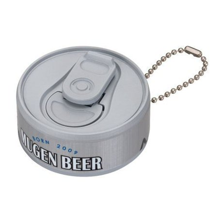 - Infinite Mugen Beer Can Keychain Silver Ver.