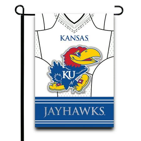 Kansas Jayhawks Garden Flag (Kansas Jayhawks 12.5