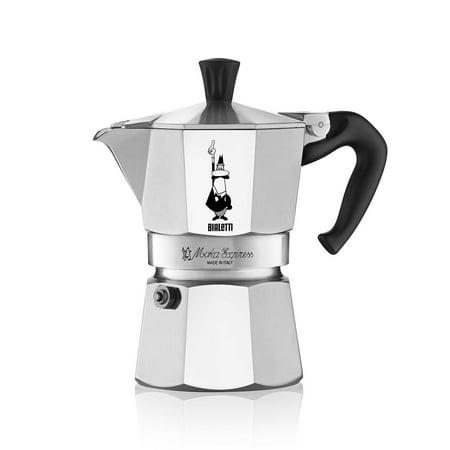Bialetti Moka Express 3-Cup Stovetop Coffee Maker