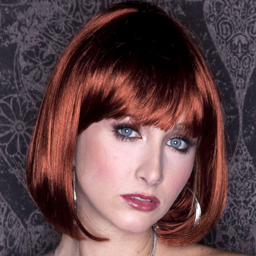 Blush Cindy Fantasy Style Synthetic Wig - Cognac