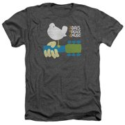 Woodstock - Perched - Heather Short Sleeve Shirt - Small