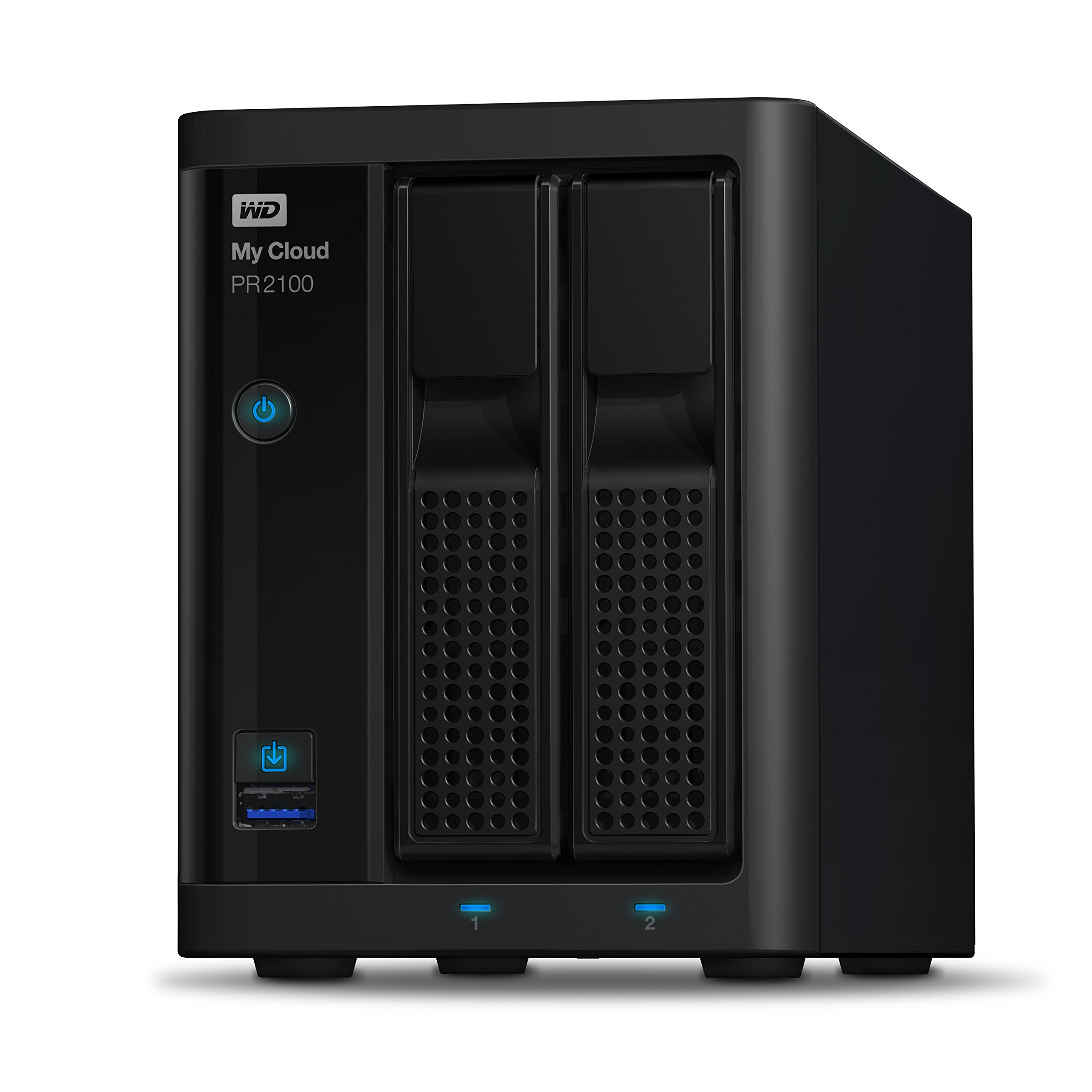 Wd 16tb My Cloud Pr2100 Pro Series Media Server With Transcoding, Nas Network Attached Storage Intel Pentium N3710... by Western Digital
