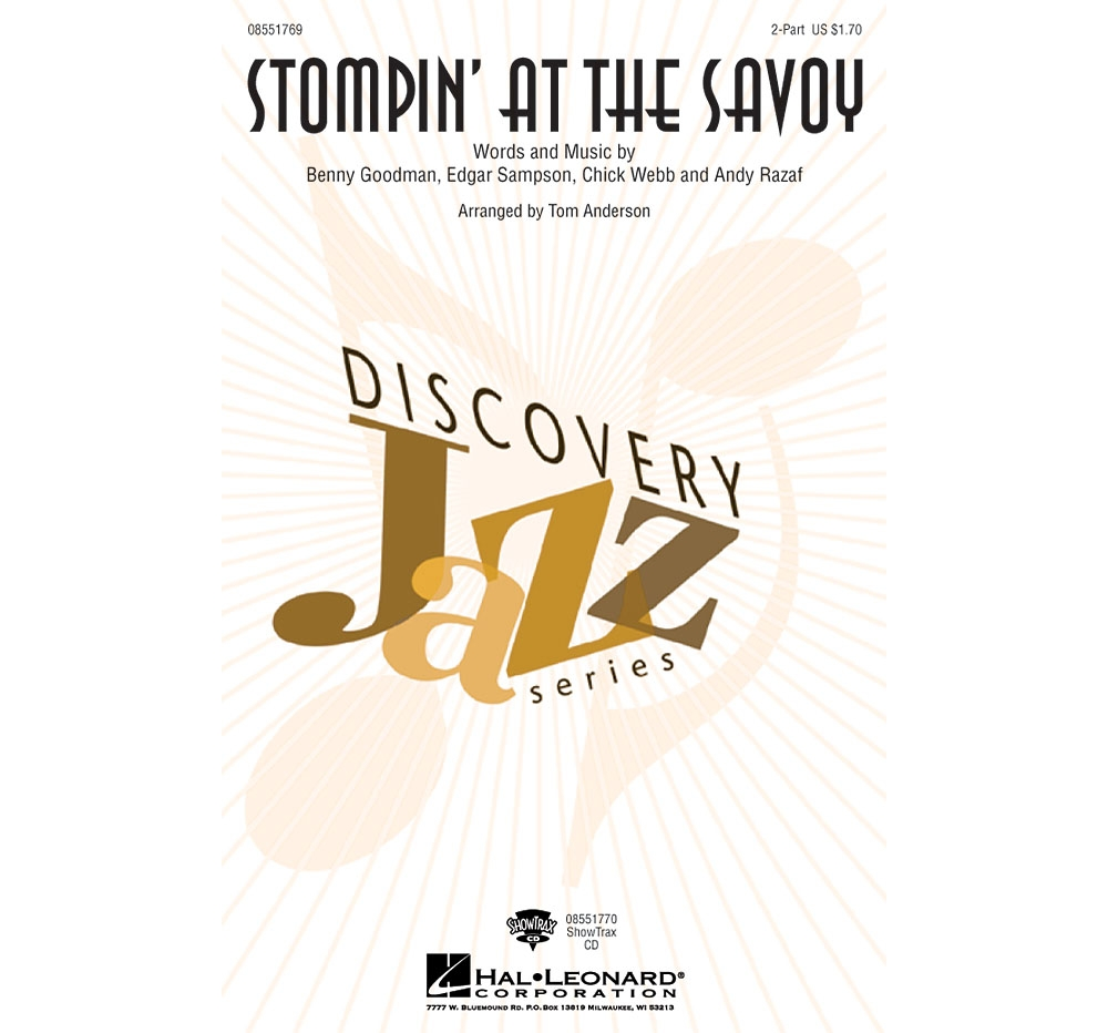 Hal Leonard Stompin' at the Savoy ShowTrax CD Arranged by Tom Anderson by